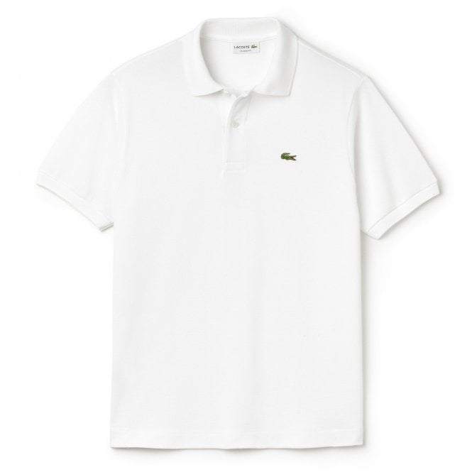 Lacoste Cotton Polo Shirt, White