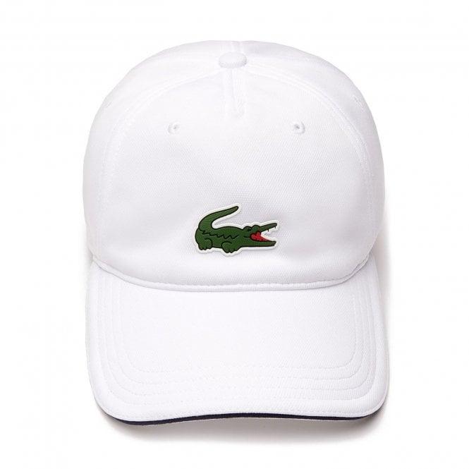 Lacoste Sport Breathable Piqué Cap, White