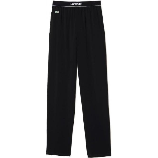 Lacoste Stretch Cotton Loungepant, Black