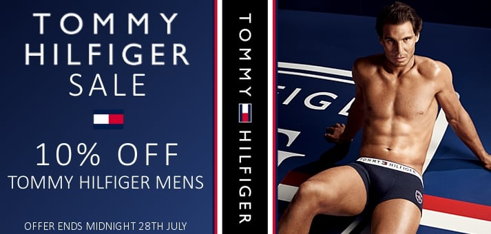 Tommy Mens 10% OFF Sale