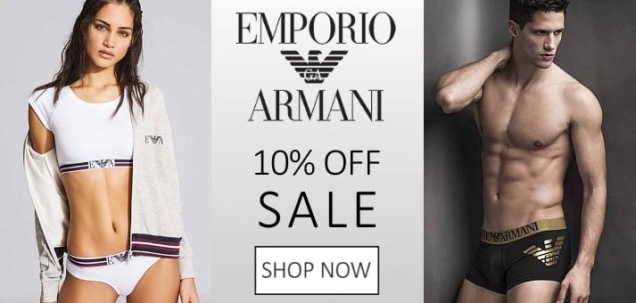 ARMANI 10% OFF SALE