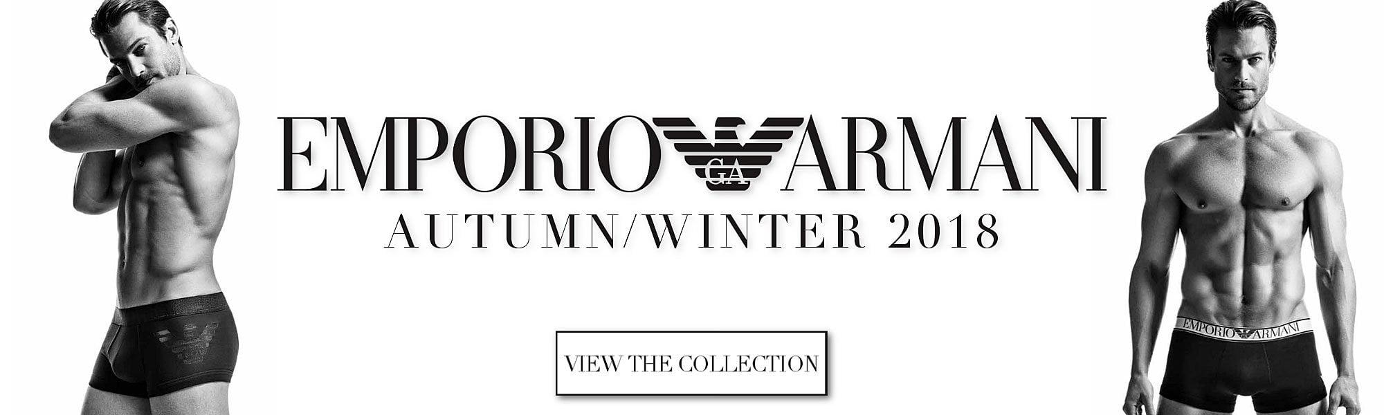Emporio Armani Mens AW18 Collection