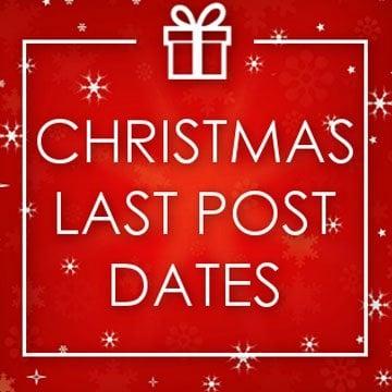 Christmas Post Dates