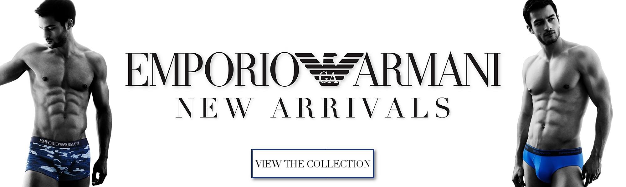 Emporio Armani New Arrivals