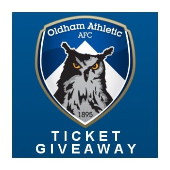 Oldham Athletic Vs AFC Wimbledon Ticket Giveaway