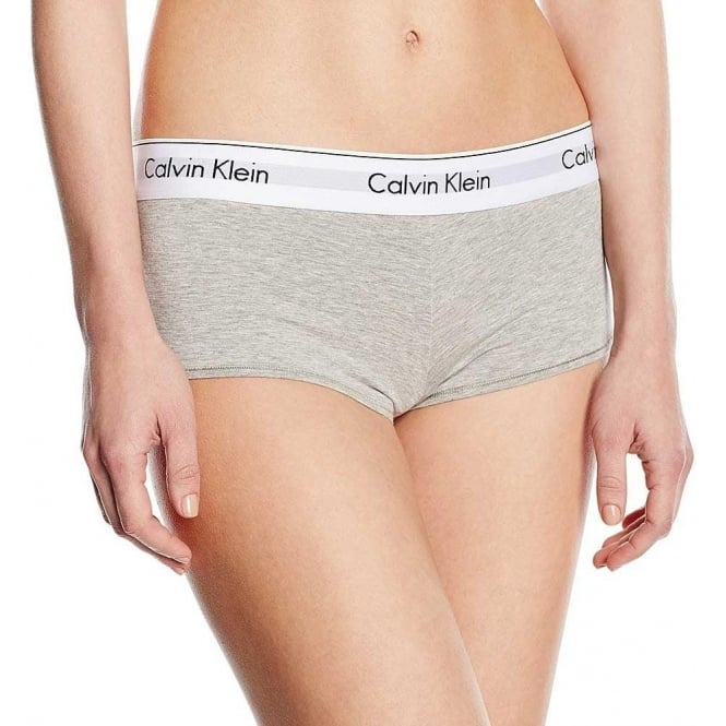 Calvin Klein Women Modern Cotton Short, Grey