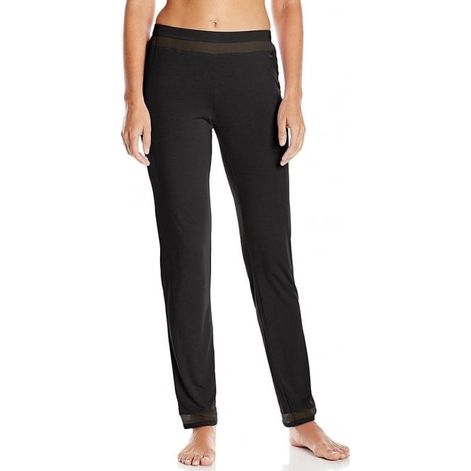 Calvin Klein Women Naked Touch PJ Lounge Pant, Black