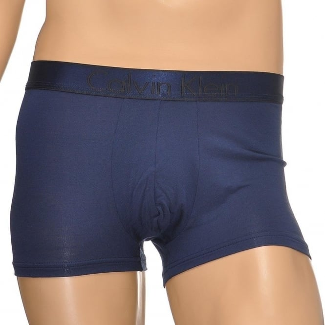 Calvin Klein Modern Modal Trunk, Blue Shadow