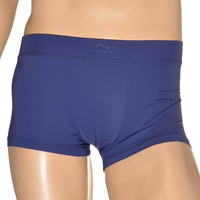 HUGO BOSS Energy Microfiber Boxer Trunk, Blue