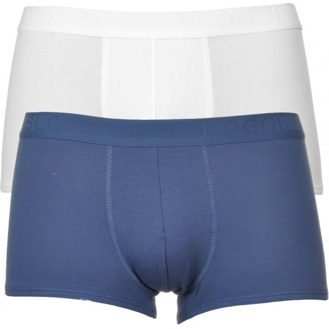 Sloggi EverNew 2-Pack Hipster, Blue / White