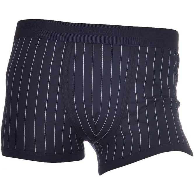 Dolce & Gabbana Cotton Regular Boxer, Dark Blue