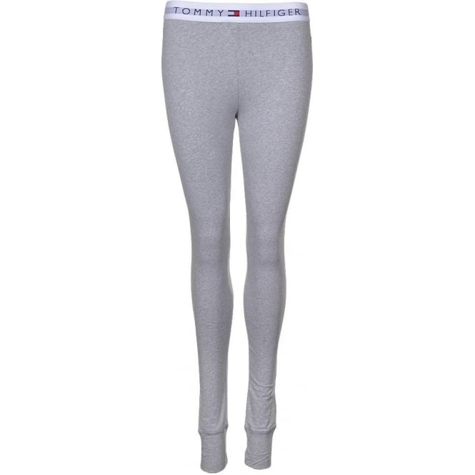 Tommy Hilfiger Women Iconic Cotton Legging, Grey