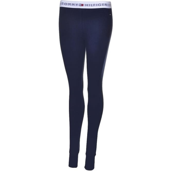 Tommy Hilfiger Women Iconic Cotton Legging, Navy
