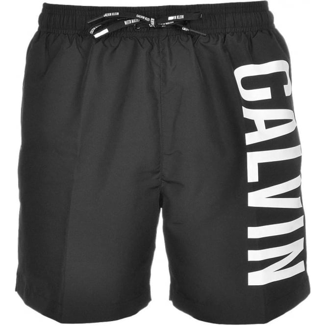 Calvin Klein Intense Power Swim Shorts, Black