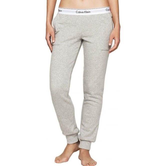 Calvin Klein Women Modern Cotton Jogger, Grey
