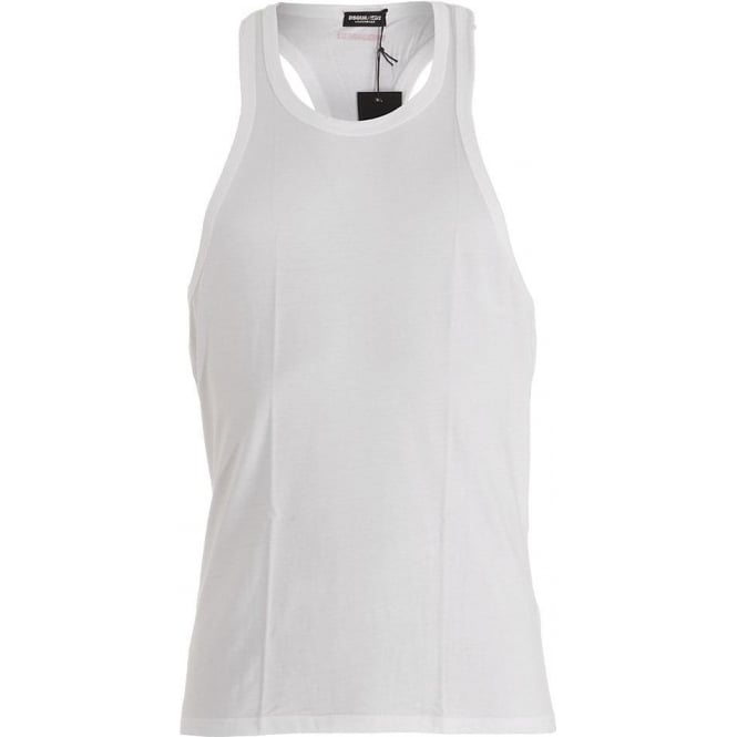 DSQUARED2 Modal Stretch Tank Top, White
