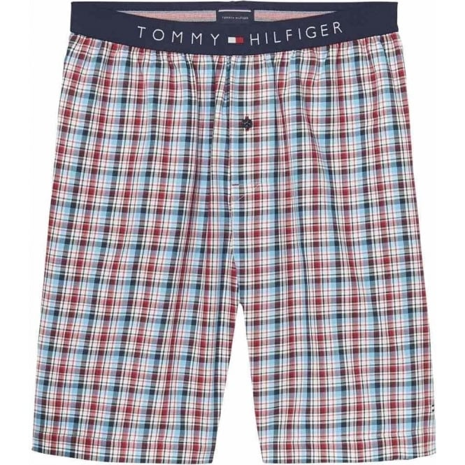 Tommy Hilfiger Woven PJ Shorts, Summer Check