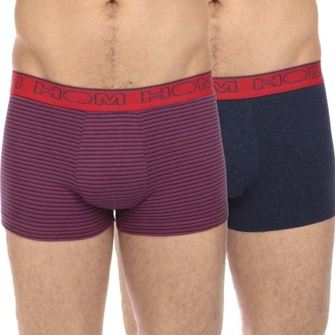 HOM Boxerlines Boxer Brief 2-Pack, Flame