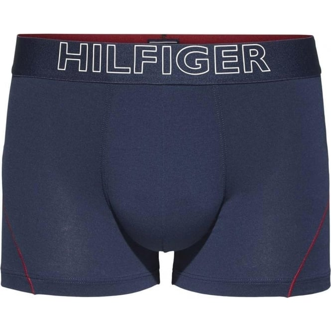 Tommy Hilfiger Cotton Athletic Trunk, Navy
