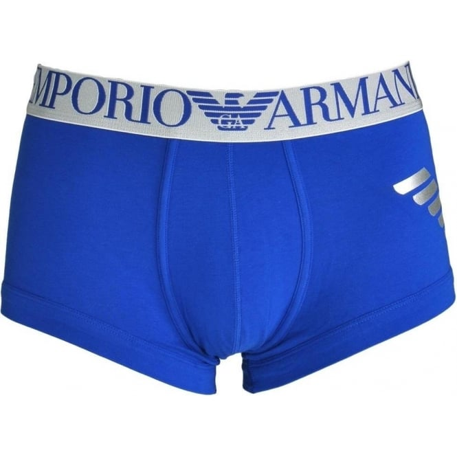 Emporio Armani Metal Eagle Trunk, Electric Blue