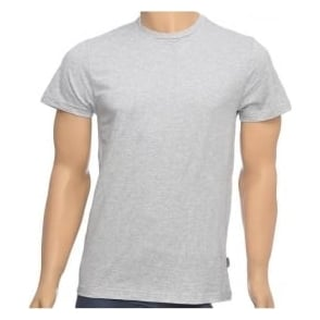 Jockey USA Originals American Crew Neck T-Shirt, Heather Grey