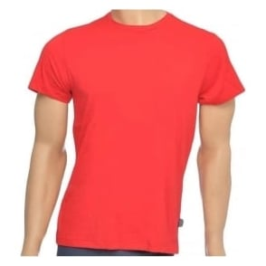 Jockey USA Originals American Crew Neck T-Shirt, Red