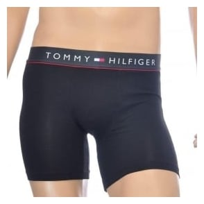 Tommy Hilfiger Cotton Flex Boxer Brief, Black