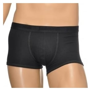 Just Cavalli Cotton Stretch Boxer Trunk, Black