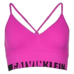 Calvin Klein Women Seamless Logo Bralette, Striking Pink
