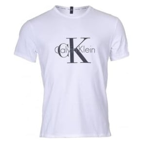 Calvin Klein CK Origins Short Sleeved Crew Neck T-Shirt , White