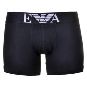 Emporio Armani Fashion Stretch Cotton Boxer Brief, Black