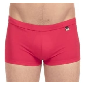 HOM Marina Swim Shorts, Red