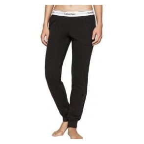 Calvin Klein Women Modern Cotton Jogger, Black