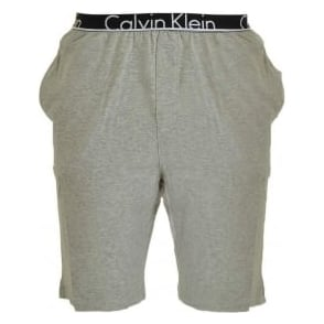 Calvin Klein ID Lounge Shorts, Heather Grey