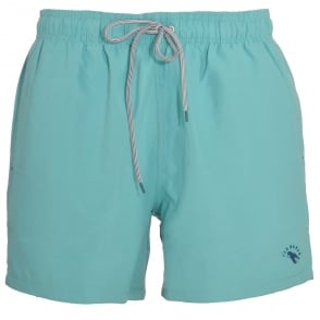 TED BAKER DANBURY Plain Swim Shorts, Light Blue