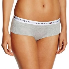 Tommy Hilfiger Women Iconic Cotton Shorty Brief, Grey