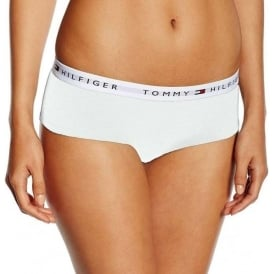 Tommy Hilfiger Women Iconic Cotton Shorty Brief, White