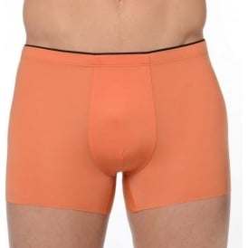 HOM Plume Invisible Comfort Boxer Brief Orange