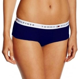 Tommy Hilfiger Women Iconic Cotton Shorty Brief, Navy
