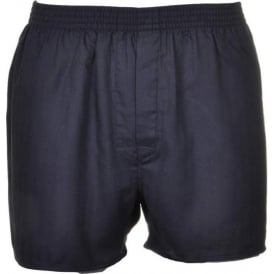 Thomas Pink Herringbone Woven Boxer Short, Black