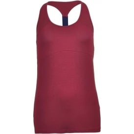 Tommy Hilfiger Women Womens Fitness Tank Top, Red
