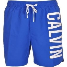 Calvin Klein Intense Power Swim Shorts, Blue