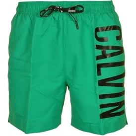 Calvin Klein Intense Power Swim Shorts, Green