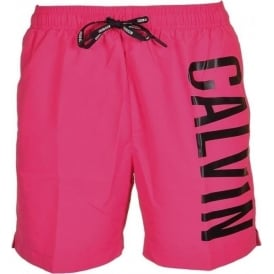Calvin Klein Intense Power Swim Shorts, Fuchsia Purple