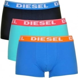 DIESEL Fresh & Bright 3-Pack Boxer Trunk UMBX-Shawn, Blues