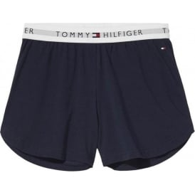 Tommy Hilfiger Women Iconic Cotton Shorts, Navy