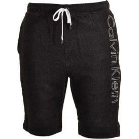 Calvin Klein Logo Lounge Shorts, Black