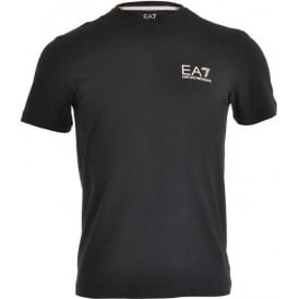 EA7 Emporio Armani Train Core ID Logo Crew Neck T-Shirt, Night Blue
