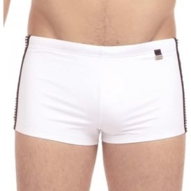 HOM Santa Cruz Swim Shorts, White