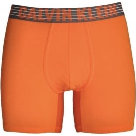 Calvin Klein Performance Breathable Tech Boxer Brief, Deep Sunset